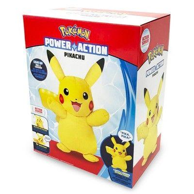 627144e662a2e Pokemon Power Action Pikachu Plush   Rasa's stuff of stuff   Pikachu ...