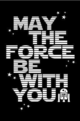 Star Wars Poster Birthday Poster Birthday Star Wars Poster