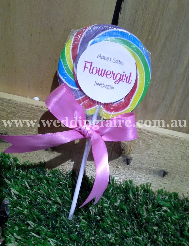 Ooh La Lollipops - Personalised - 85 grams - The Wedding Faire