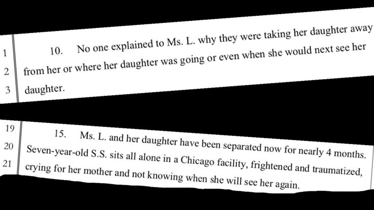 Column: A frightened child in Chicago and an immigration policy unbecoming of America. A mother and her child from the Republic of Congo were separated by immigration officials upon their arrival in San Diego, and the daughter was sent to Chicago.