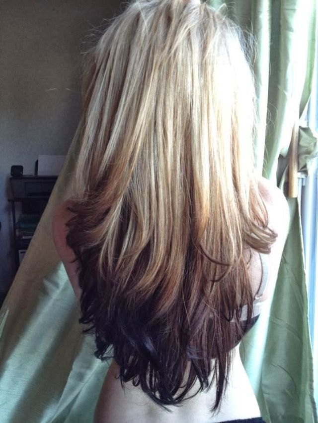 Now that's a gorgeous reverse ombré | My-FavThings | Bloglovin'