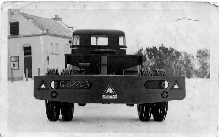 Oplegger gebouwd door lens carrosserie bedrijf lens for Garage ford lens