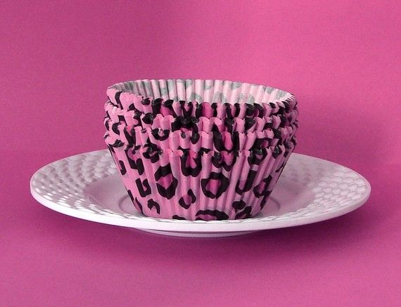 Leopard Cupcake Liners