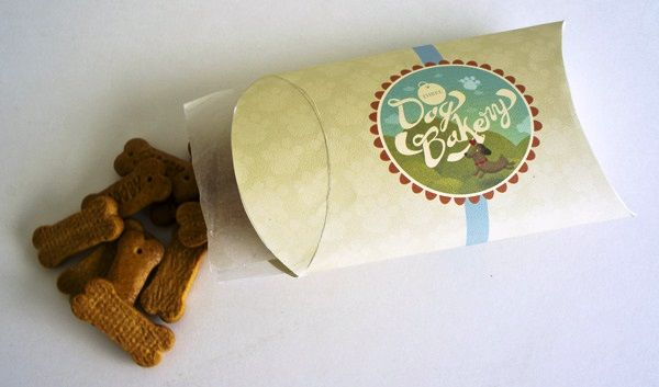 Kemasan Roti Biskuit dan Kue - Three Dog Bakery Branding