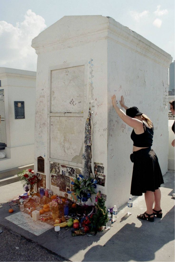 Marie Laveau's Grave. To  VooDoo practicioners and New Age spiritualists, this tomb is practically sacred.