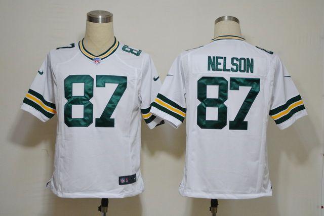 Nike NFL Jerseys Green Bay Packers Jordy Nelson #87 White