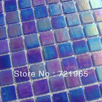 Iridescent glass mosaic tiles FREE shipping glass mosaic kitchen tile  backsplash IGMT021 blue purple glass mosaic. 17 Best images about Bathroom ideas on Pinterest   Pink blue