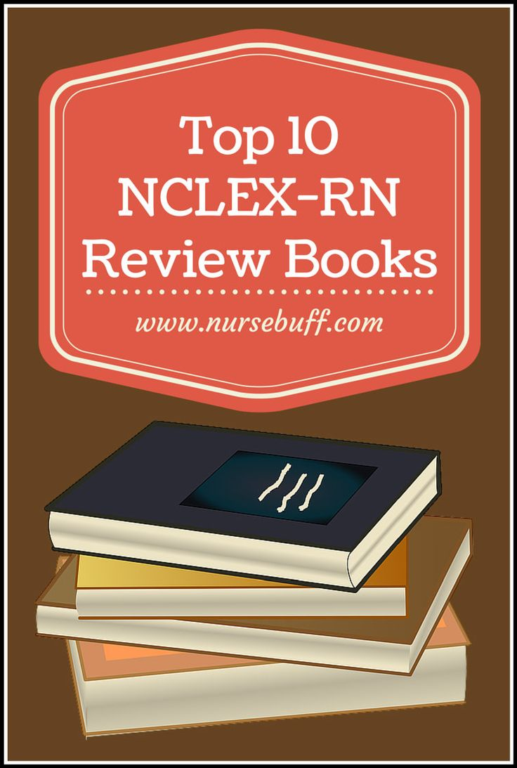 Here are some of the most popular NCLEX-RN review books, via NurseBuff.