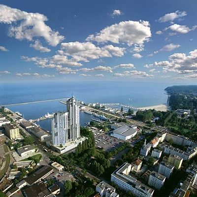 Gdynia Sea Towers, dictating the future skyline..........