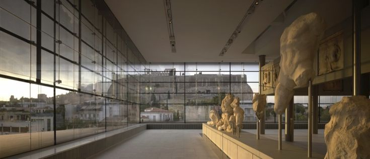 New Acropolis Museum / A perfect dialogue: the Parthenon as seen from the museum