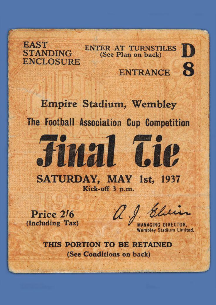 1937 FA Cup final, Sunderland 3 Preston North End 1.