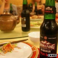 Chinese beer - xinjiang black beer