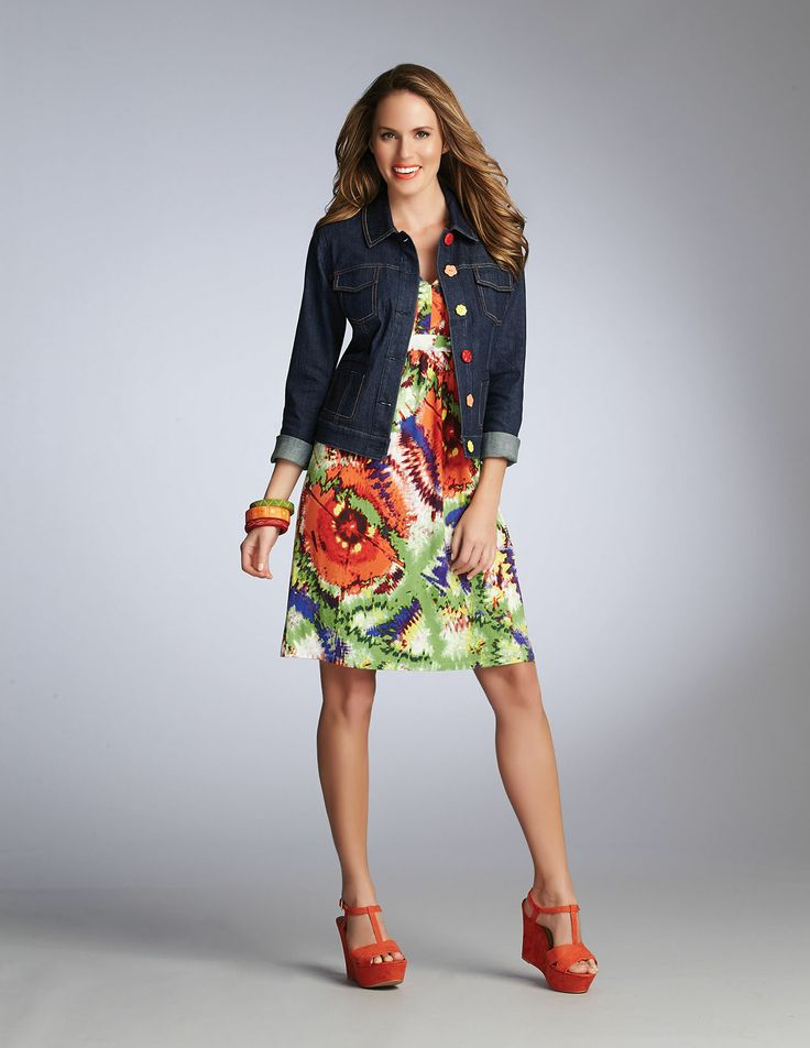 SPRING 14 TROPICAL SUNSET Collection Fashion Clothing SPANNER #InspiredStyle