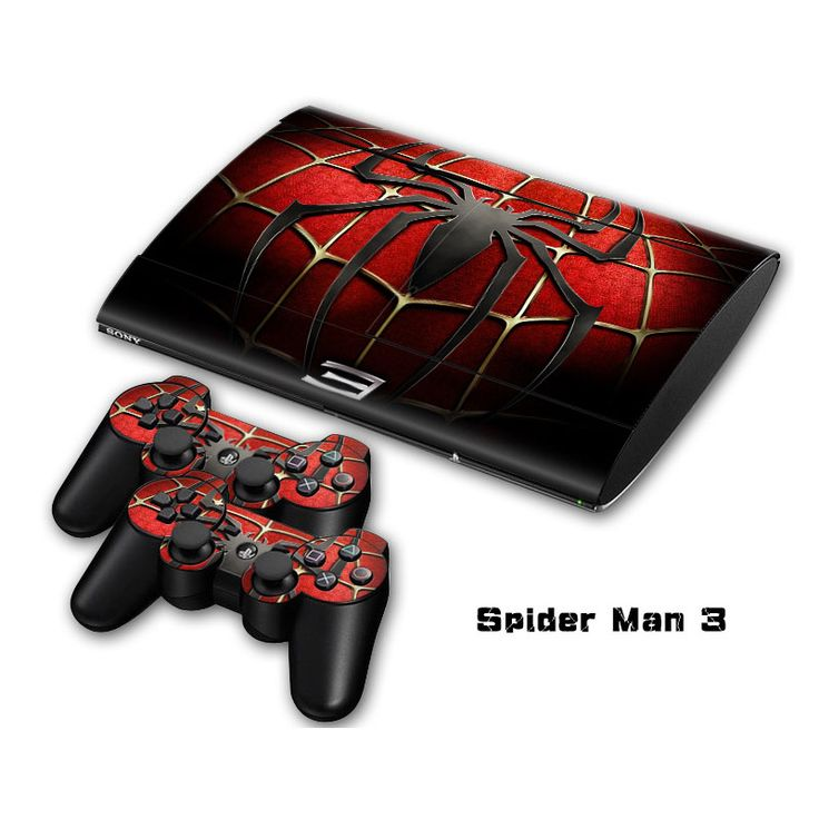 >> Click to Buy << Spiderman Vinyl Skin Sticker Protector For Sony PS3 Super Slim 4000 And 2 Gamepad Controller Skins Cover Joystick Decal  #Affiliate