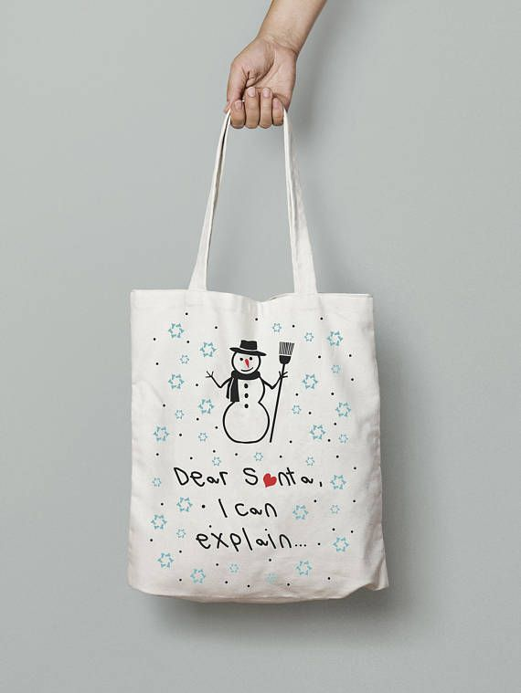 Christmas tote bags christmas gifts ideas quote tote bag