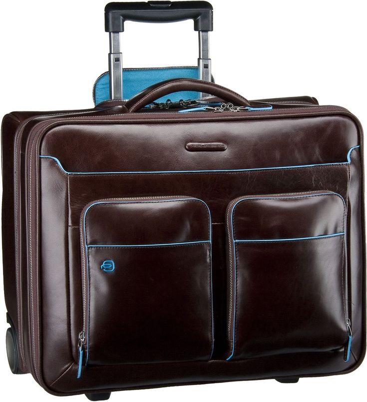 Taschenkaufhaus Piquadro Blue Square Business Trolley Mogano - Pilotenkoffer: Category: Taschen & Koffer > Pilotenkoffer >…%#Taschen%