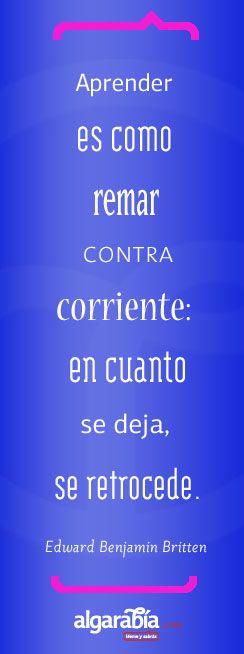 Frase-Cita de la semana / Quote of the week: