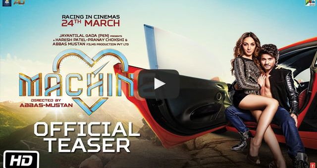 Presenting the official teaser of #Machine. The classic love story with a classic twist. Starring Kiara Advani & #Mustafa. Releasing on 24th March, 2017!  #MachineTeaser
