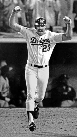 Oct. 15, 1988 — Kirk Gibson's World Series home run