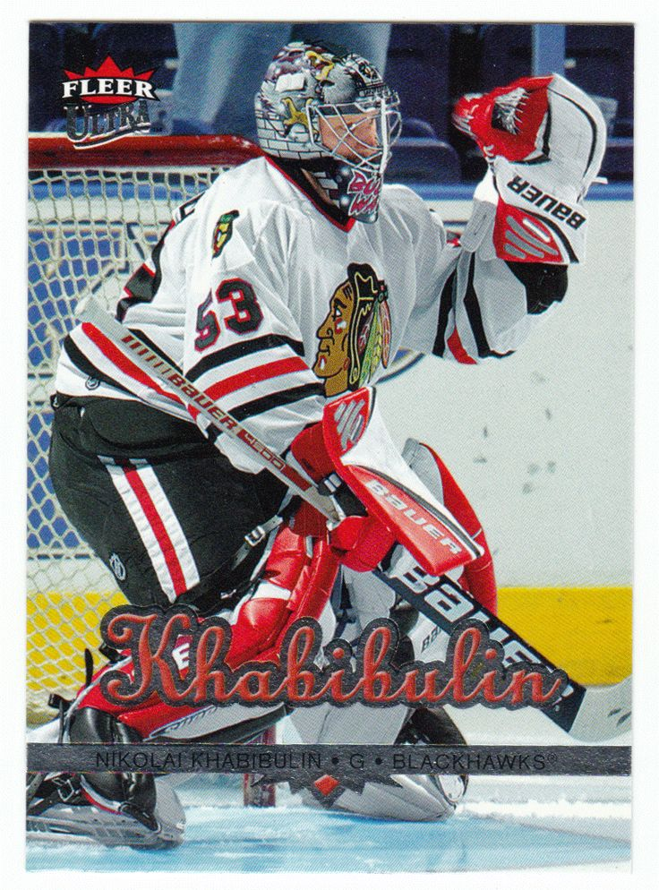 Nikolai Khabibulin # 47 - 2005-06 Fleer Ultra Hockey