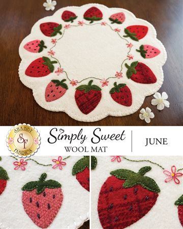 Blooming Hearts Candle Mat Kit