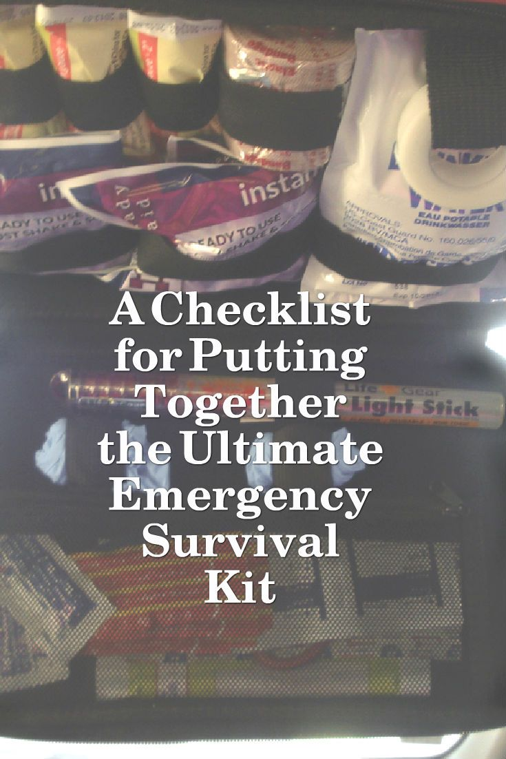 Being prepared for the unexpected in an emergency situation can often mean the difference between life and death. The key is to know exactly which items to have with you always. Let's focus on emergency kit supplies to be kept in your vehicle, but these are multifunctional and can be used in numerous other survival situations.