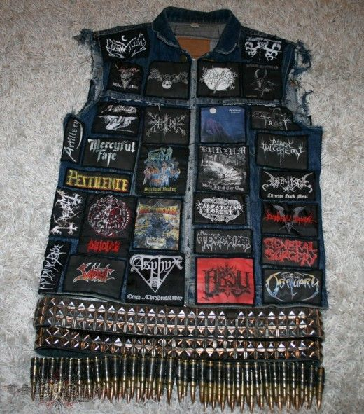 Biker Vest Patches >> 38 best images about Metal Battle Jacket on Pinterest | Vests, Posts and Rock chick