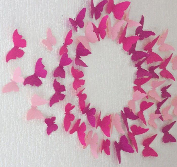 Mur Papillons Gossip Girl