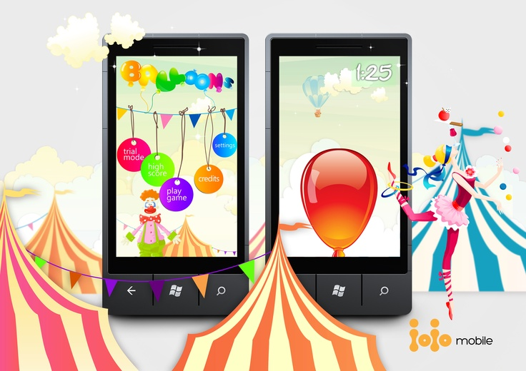 Blowing #balloons. App for #WindowsPhone