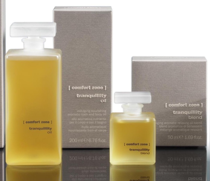 Tranquillity blend by Comfort Zone: one of our favourites at T SPA. A unique indulging body system rich in natural active ingredients to bestow skin with silkiness while stimulating a deep sense of well-being.