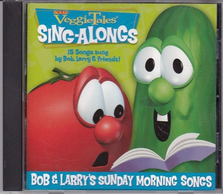 VeggieTales: Bob and Larry's Sunday Morning Songs CD Sing-Along Child Children