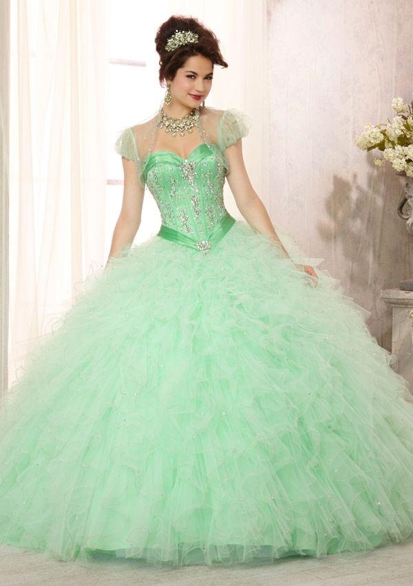 16 best VESTIDOS images on Pinterest | Cute dresses, Quinceanera ...