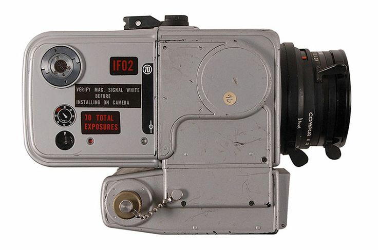 NASA moon landing camera claimed to be used by Apollo astronaut up for auction | collectSPACE. But the camera was returned for study, not as a souvenir, so it is not clear how the camera entered private hands.