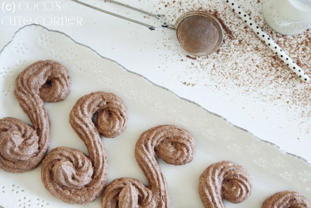 Schoggi S - Schweizer Schokoladen Baiser / Swiss Chocolate Meringue