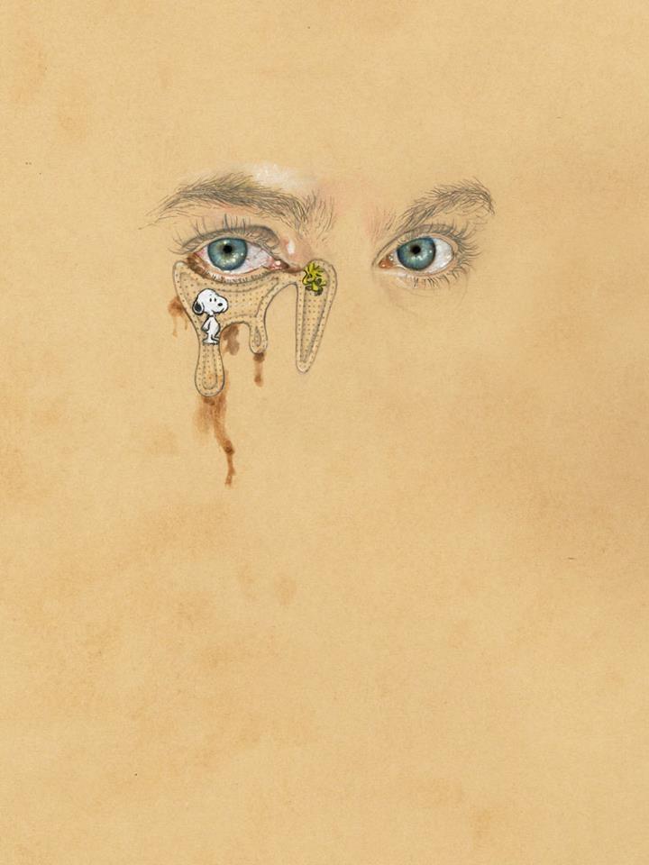 """""""Lacrimae Dealbo"""", 2012    My favourite illustrator - Cedric Rivrain."""