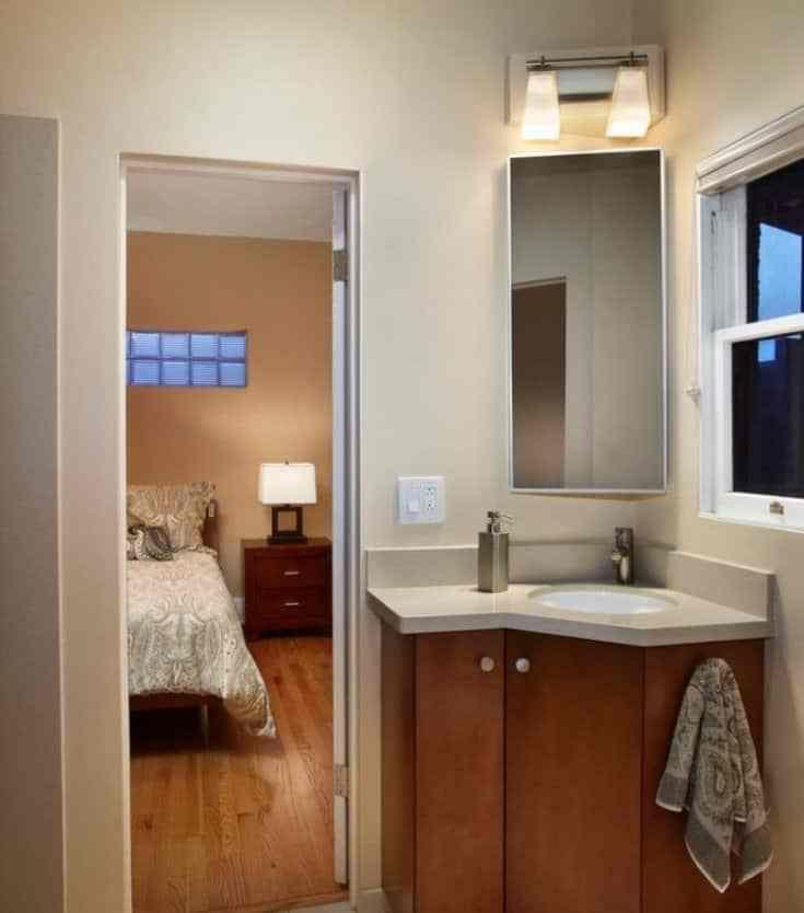 Single Sink Corner Bathroom Vanity Corner Bathroom Vanity Small Bathroom Solutions Corner Sink Bathroom