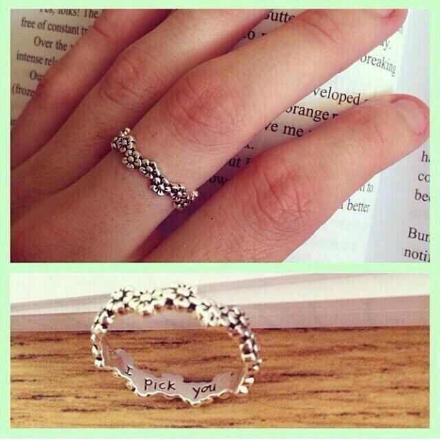 Really cute idea for a promise ring