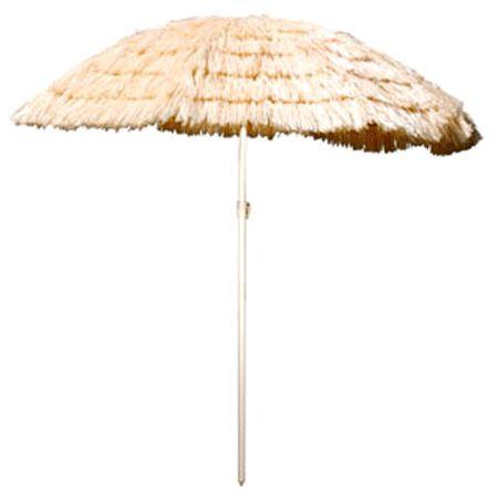 Rieten strand parasols. Hawaii of tropisch feestje? Bij Fun en Feest vind je de leukste Hawaii feestartikelen, versiering en decoratie.