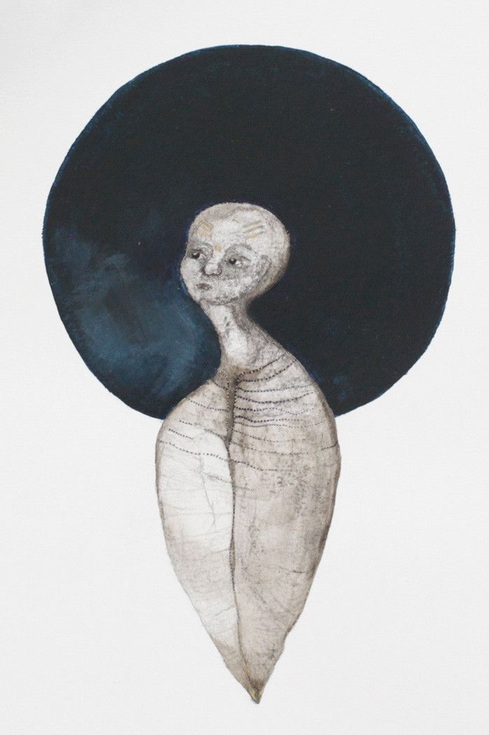 Charcoal, watercolour and acrylic, framed 34 x 44 cm Eleanor Rex