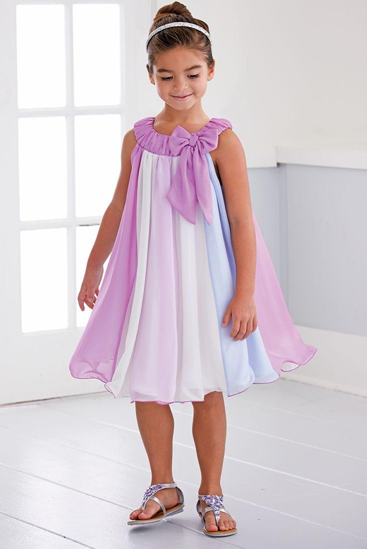 From CWDkids: Chiffon Panel Dress