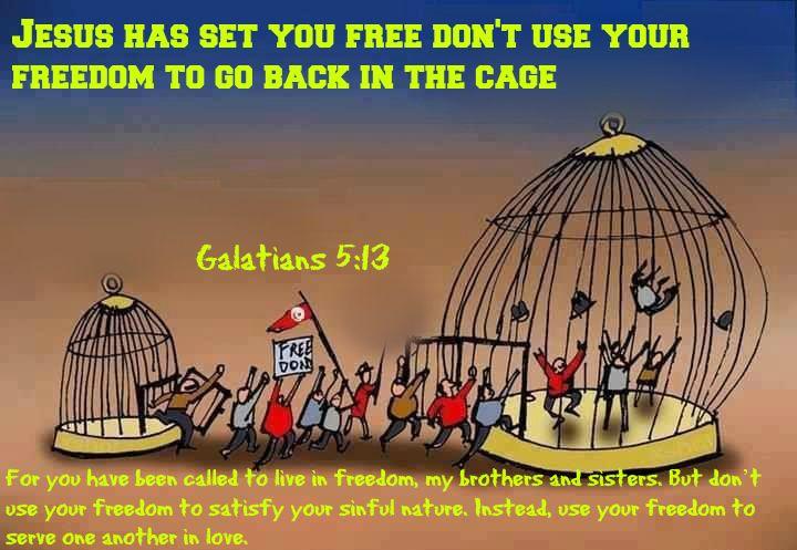 gal 5,13 Gospel of Freedom