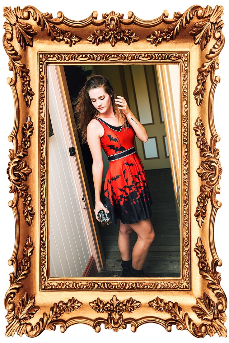 Batty Page Skater Dress