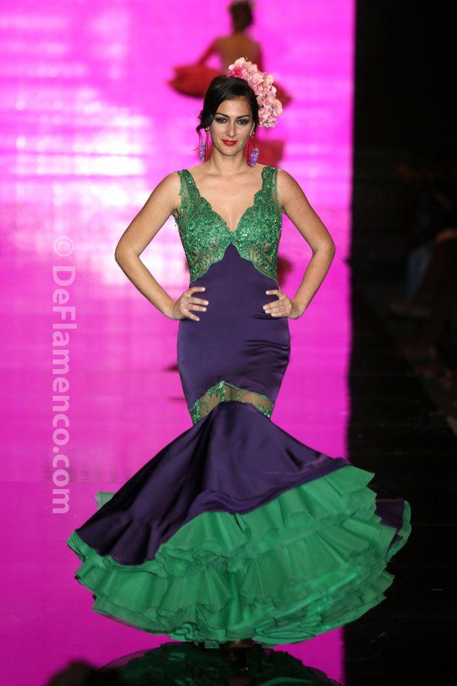 Mejores 160 imágenes de FLAMENCA en Pinterest | Moda flamenca, Traje ...