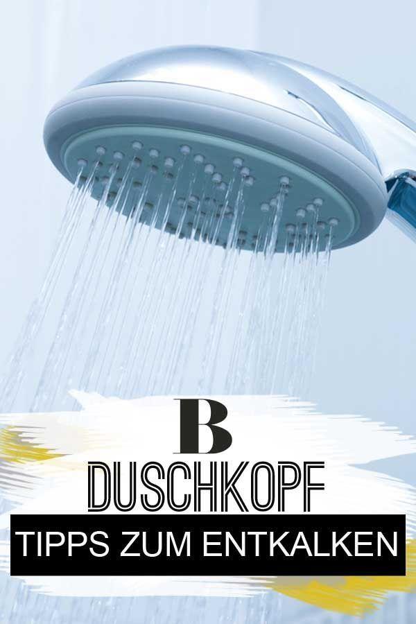 Duschkopf Entkalken Die Besten Tipps Duschkopf Tipps Dusche