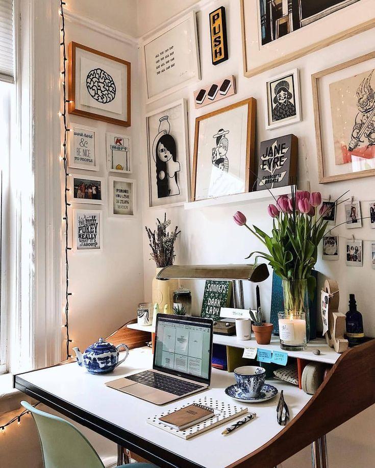 Astonishing Small Home Office Lighting Ideas Home Office Design Home Office Decor Home Office Lighting