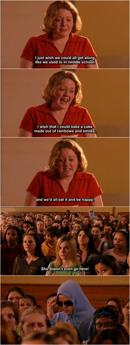 Mean Girls Meme She Doesnt Even Go Here 1000+ ideas about Mean...