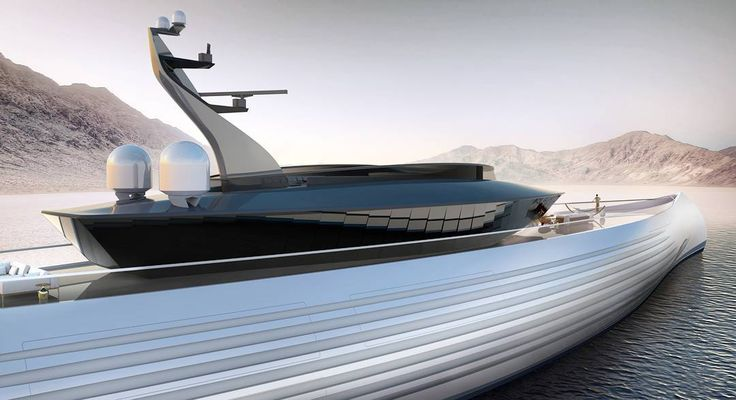 Rich Kids Spotted   Image   Live from the Dubai Boat Show 2018. Oceanco and Lobanov unveil their latest concept, Tuhura. What do you think? Rendering by @oceancoyacht
