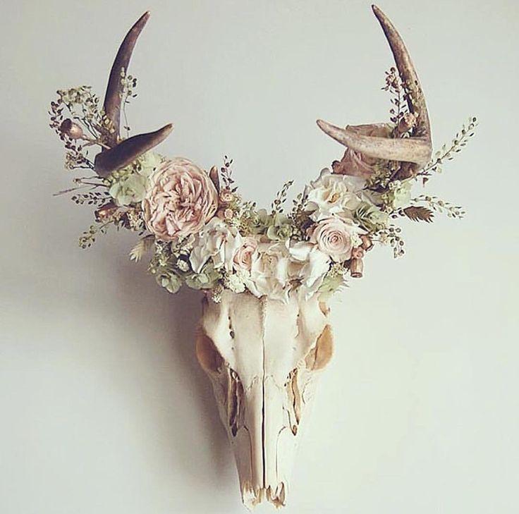 Geweih Blumen