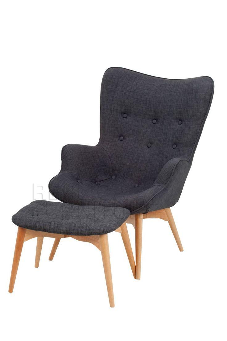 Replica grant featherston contour lounge chair r160 for Lounge chair replica