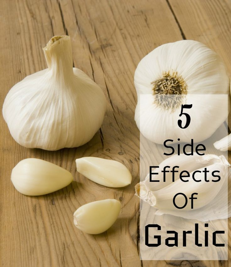 5 Side Effects Of Garlic You Should Be Aware Of